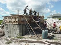 Concrete Bucket Brigade