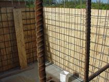 Cistern Wall Reinforcement