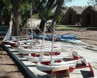 Model Sailboat Fleet